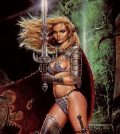 Pictures and photos of Amazon warrior women (mythological, historical and modern)